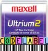 Maxell LTO-2 - with FREE Custom Barcode Labels