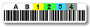 AIT-5 Barcode labels, custom sequence, Qty: 45 labels per sheet