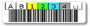 LTO Ultrium-1 Tape Cartridge Barcode Label, Qty: 20 labels per sheet