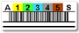 SDLT1 Tape Cartridge Barcode Label, Qty: 30 labels per sheet