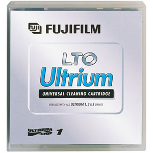 Fujifilm Ultrium LTO Universal Cleaning Cartridge Tape 26200014 for LTO-4, LTO-5, LTO-6 and LTO-7 Drives