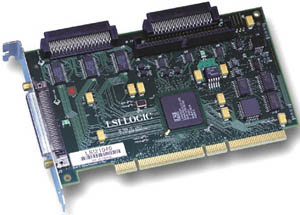 LSI Logic - Host Bus Adapter - LSI21040B - U160 + Ultra SE