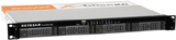 NETGEAR ReadyNAS 1100 2TB 1U Rackmount Network Attached Storage NAS Solution (4 x 500GB) P/N: RNR4450-100NAS