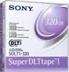 Sony SDLT1-320 - Data Cartridge Tape, SDLT1 Super DLTtape I, 110/220GB w/ SDLT220,  160/320GB w/ SDLT320