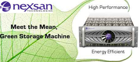 Nexsan Energy Efficient SAN Solutions