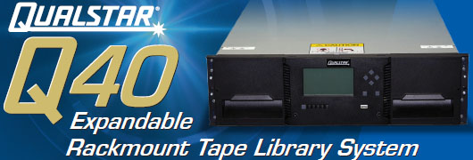 Qualstar Q40 Tape Library