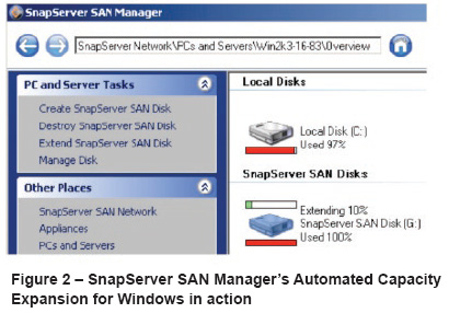 S2000 SnapServer Virtual Optimization