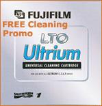 FREE LTO Cleaning Cartridge FujiFilm