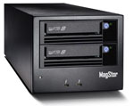 MagStor Desktop DUAL LTO8 12TB LTFS Tape Drive with Thunderbolt 3 Interface LTO-8 Part# TRB3-HL8-DUAL