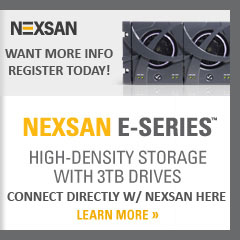 Nexsan E-Series Connect with Nexsan today and register