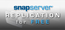 FREE SnapServer EDR replication licenses must order two units offer ends June 30, 2011