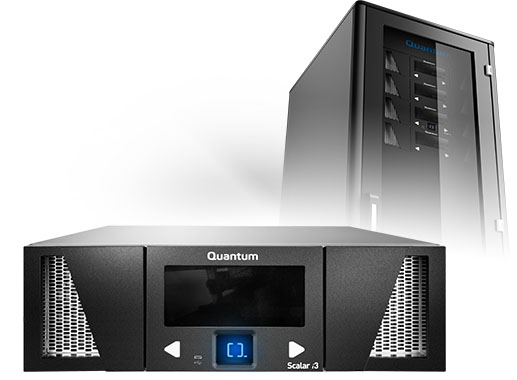 Quantum Scalar i3 Tape Library LTO-6 and LTO-7 SAS or FC