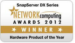 SnapServer DX Series - 2012 Network Hardware Product of the Year
