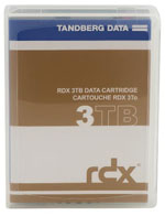 Tandberg Data RDX QuikStor 3TB Removable Disk Cartridge (Dell compatible) Now Available Part# 8807-RDX