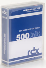 Tandberg Data RDX QuikStor 500GB - Removable Disk Cartridge Part # 8541-RDX