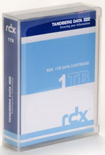 Tandberg Data RDX 1TB 10 Pack - Removable Disk Cartridge (10 x 1TB RDX) P/N: 8587-RDX