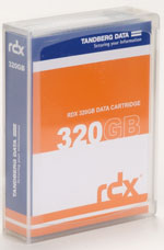 Tandberg Data RDX QuikStor 320GB - Removable Disk Cartridge Part # 8536-RDX