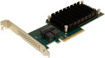 ATTO ExpressSAS H1208 8 Internal Port 12Gb/s SAS/SATA to PCIe 3.0 Host Bus Adapter (HBA) Part# ESAH-1208-000