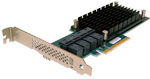 ATTO ExpressSAS H120F 12Gb/s SAS/SATA to PCIe Host Bus Adapter (HBA) 16 Internal Port Part# ESAH-120F-000