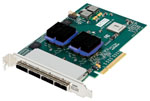 ESAS-H6F0-000 ExpressSAS H6F0 16-External Port 6Gb/s SAS/SATA PCIe 2.0 Host Adapter by ATTO Technology Part # ESAS-H6F0-000