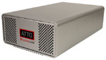 ATTO ThunderLink FC 1082 - Thunderbolt to 8Gb/s Fibre Channel Desklink Device (10Gb/s Thunderbolt 2-port to 8Gb/s FC 2-Port) Part# TLFC-1082-D00