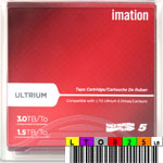Free custom LTO-5 Barcode Labels w/min. purchase of 20 Imation 27672 LTO-5
