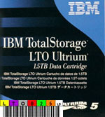 Free custom LTO-5 Barcode Labels w/min. purchase of 20 IBM 46X1290 LTO-5 Ultrium data cartridge tapes
