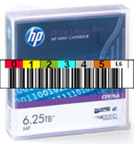 FREE Custom Sequence HP LTO-6 Barcode Labels w/min. purchase of 20 or more HP LTO-6 Data Cartridges C7676A-BCL