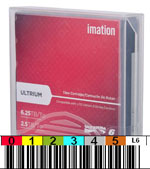 FREE Custom Sequence Imation LTO-6 Barcode Labels w/min. purchase of 20 or more Imation LTO-6 Data Cartridges 29080-BCL
