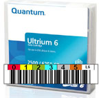 FREE Custom Sequence Quantum LTO-6 Barcode Labels w/min. purchase of 20 or more Quantum LTO-6 Data Cartridges MR-L6MQN-01-BCL