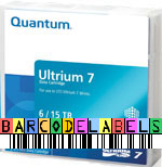 FREE Custom Sequence Quantum LTO-7 Barcode Labels w/min. purchase of 20 or more Quantum LTO-7 Data Cartridges MR-L7MQN-01-BCL