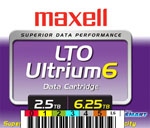 FREE Custom Sequence Maxell LTO-6 Barcode Labels w/min. purchase of 20 or more Maxell LTO-6 Data Cartridges 229558-BCL