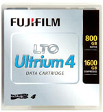 Fujifilm 26247007 Data Cartridge Tape, LTO, Ultrium-4, 800GB / 1.6TB LTO-4 LTO4 (New Manuf Part No. 15716800)