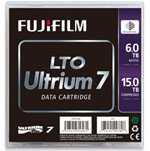 FujiFilm LTO-7 Tape Media 6TB Native / 15TB Compressed with Barium Ferrite (BaFe) Part# 16456574