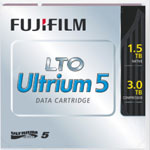 FujiFilm LTO-5 Ultrium Data Cartridge 1.5 TB / 3.0 TB LTO Ultrium-5 Tape Part # 16008030