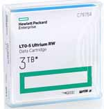 HP LTO-5 Ultrium Data Cartridge 1.5 TB / 3.0 TB LTO Ultrium-5 Tape Part# C7975A