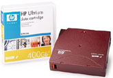HP LTO-2 Data Cartridge Tape C7972A - LTO2, LTO Ultrium-2, 200/400GB