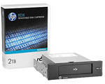 HP RDX 2TB USB 3.0 Internal Disk Backup System (1 x 2TB RDX Cartridge + 1 x USB 3.0 Internal Docking Station) Part# E7X52A