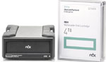 HP RDX 4TB USB 3.0 External Bundle (1 x 4TB RDX Cartridge and 1 x USB 3.0 External RDX Docking Station) HPE RDX Part# Q2R33A
