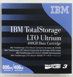 24R1922 IBM LTO-3 24R1922 Data Cartridge Tape, LTO3, Ultrium-3, 400/800GB