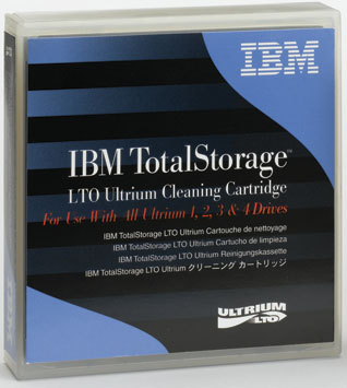 IBM LTO Ultrium Cleaning Cartridge Part# 35L2086