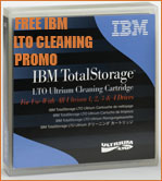 FREE IBM LTO Ultrium Cleaning Cartridge Part # 35L2086