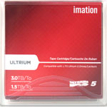 27734 IMATION LTO ULTRIUM V - 1.5TB/3.0TB RFID LABELED WITH CASE