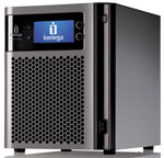 Iomega StorCenter px4-300d Desktop NAS server Diskless (empty chassis) - 0-Drive config Part # 35098