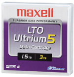 Maxell LTO-5 Ultrium Data Cartridge 1.5 TB / 3.0 TB LTO Ultrium-5 Tape Part # 229323