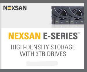 Nexsan E-series Storage Arrays - High Density Storage