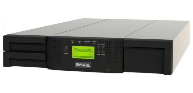 Qualstar Q24 LTO 7 SAS Rackmount Tape Library 2U 24 Slot Autoloader Part 900360 13 2