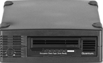 Quantum LTO-5 Tape Drive, Half Height, Tabletop, 6Gb/s SAS, Black, TC-L52BN-AR External SAS HH