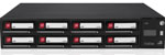 Imation A8 Removable Hard Disk-Based Storage Library - 8 Bay 2U RDX Multi-Loader (0-Drive) empty chassis Part # 28088