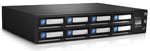 Quantum RDX 8000 Library - 8-Slot iSCSI 2U 8TB Removable Disk Backup (Includes dataStor Deduplication Software + 8 x 1TB Carts) Part # TRL8K-C2DQ-MGBA